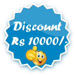Rs 10000/- Discount