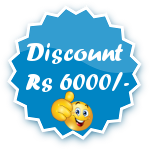 Rs 6000/- Discount