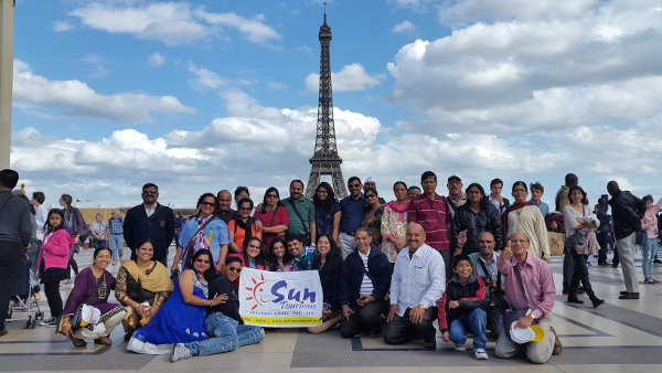 Europe Group Holiday trip from Pune