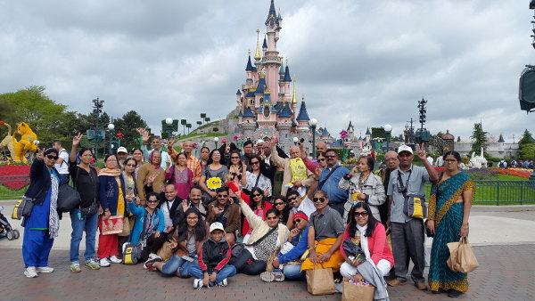 Europe Group Tour from Pune