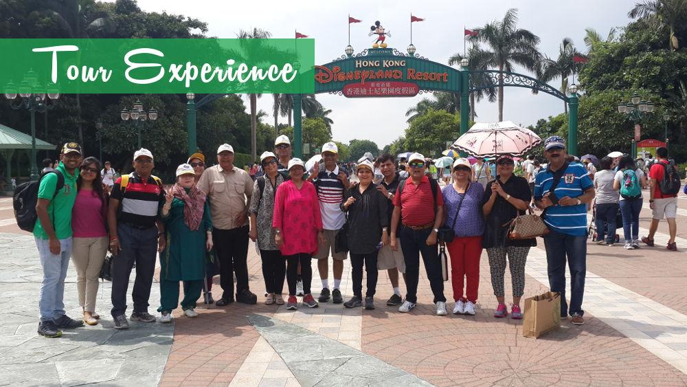 hong kong disneyland tour package from pune