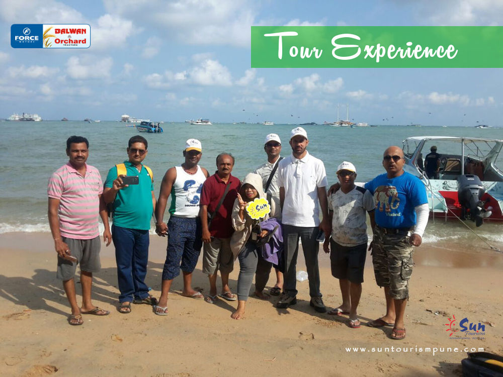 thailand group tour from pune