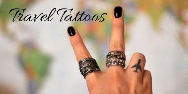 Minimalist Travel Tattoos