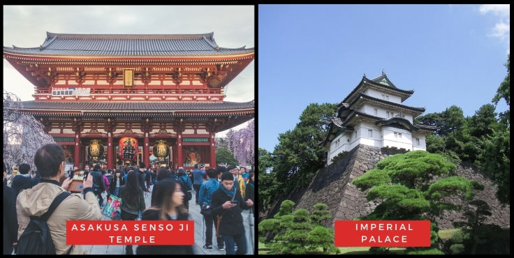 Asakusa Senso Ji Temple & Imperial Palace